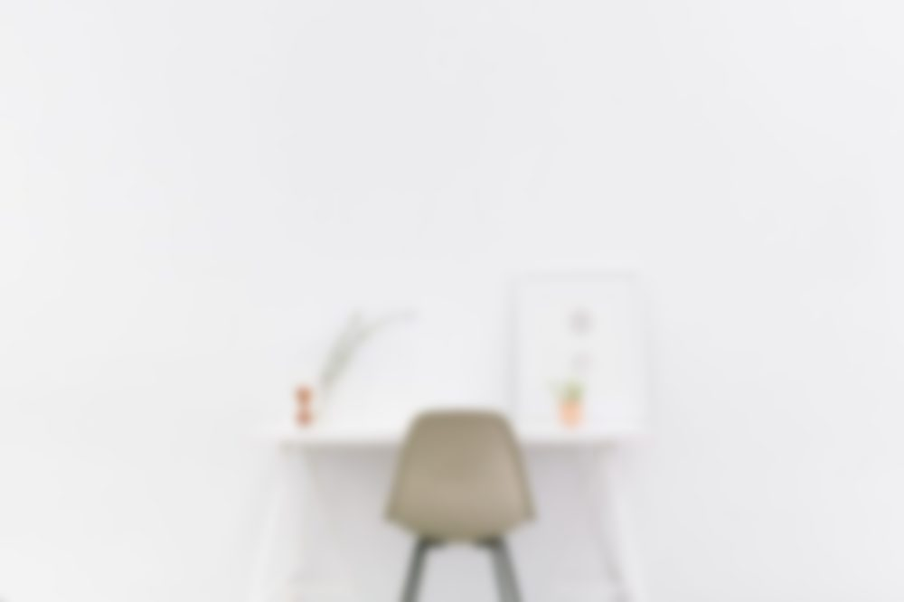 blurred office
